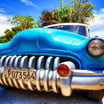 Mean Machine Cuban Car  by tommysphotos