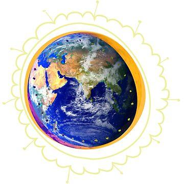 Planet Earth - Graphic Design by sbaldesco