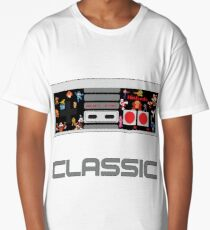Nintendo Makes Classics Long T-Shirt