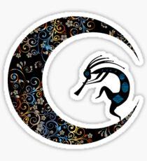 Crescent Melody Sticker