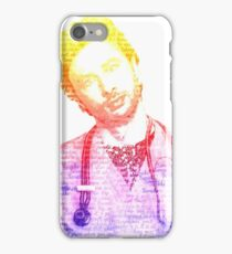 JD Quote Rainbow iPhone Case/Skin