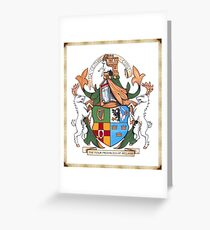 The Four Provinces of Ireland Coat of Arms Greeting Card