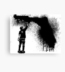 Florida Tagger Canvas Print