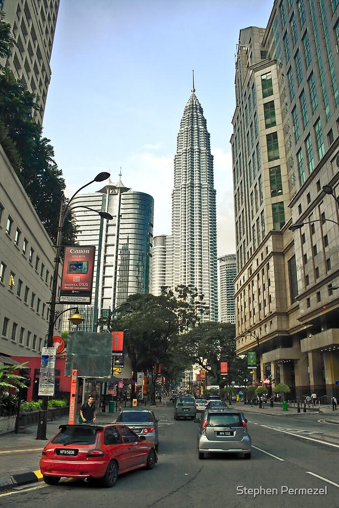 Street Level - Kuala Lumpur, Malaysia by Stephen Permezel