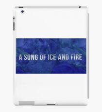 A song of ice and fire iPad Case/Skin