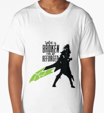 What is broken Can be reforged Long T-Shirt