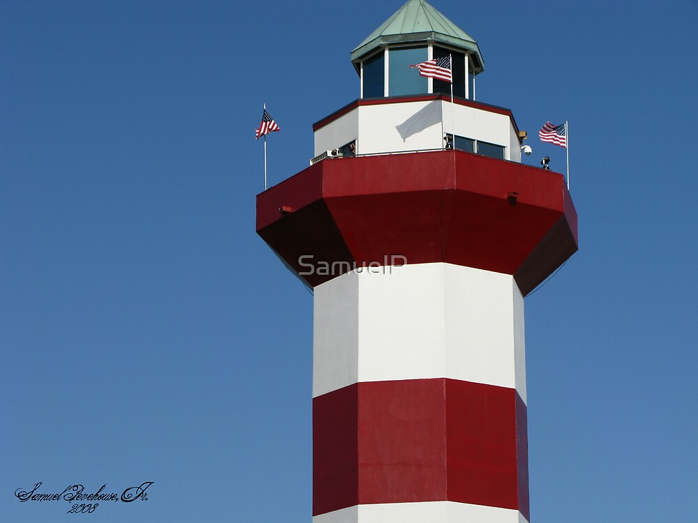 Harbour Town Lighthouse 2008 by Samuel Pevehouse