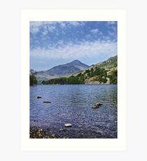 Lake HDR Art Print
