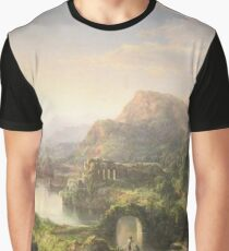Dream of Italy, oil on canvas painting by William Louis Sonntag, 1859 Painting Photograph Graphic T-Shirt