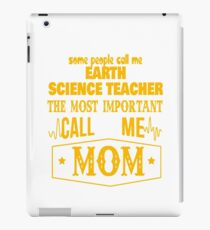 EARTH SCIENCE TEACHER BEST COLLECTION 2017 iPad Case/Skin
