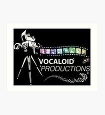 Vocaloid Shirt Art Print