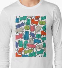 Cool Cats Long Sleeve T-Shirt