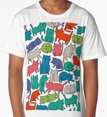 Cool Cats Long T-Shirt