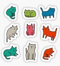 Coole Katzen Sticker