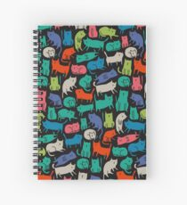Cool Cats Spiral Notebook