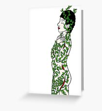 Vine Growth in Body Greeting Card