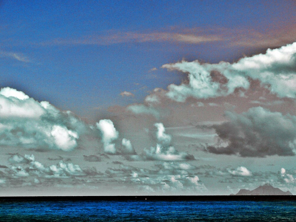 Color Accented Sky and Ocean + Saba by Tommy Seibold
