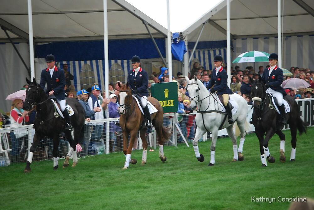 The British Team. by Kathryn Considine