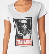 -MOVIES- Terminator Women's Premium T-Shirt