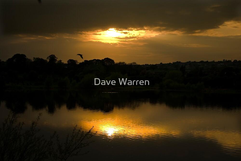 Elsecar Sunset by Dave Warren