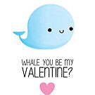 Whale you be my Valentine? - V2 by cheezup