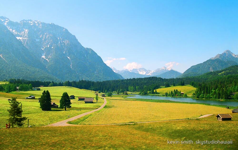 Bavaria Farmland by kevin smith  skystudiohawaii