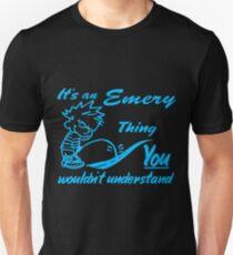 Name shirt custom design for - Emery Unisex T-Shirt