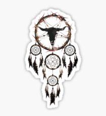 Summoning circle pentagram - Dreamcatcher Sticker