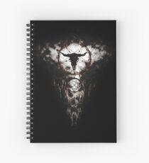 Summoning circle pentagram - Dreamcatcher Spiral Notebook