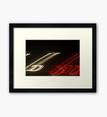 Crazy City 48 Framed Print