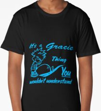 Name shirt custom design for - Gracie Long T-Shirt