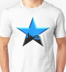 Camiseta unisex Geordie Star