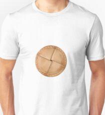 Leather clothes button T-Shirt