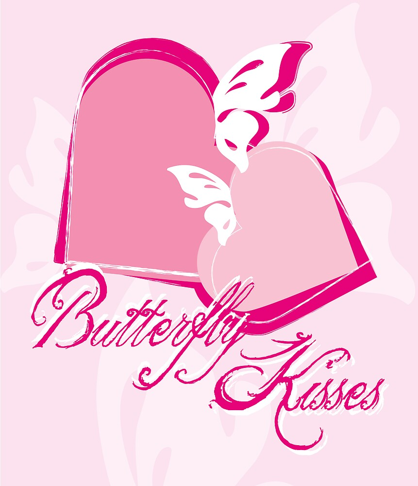 Butterfly kisses by Cathryn Swanson