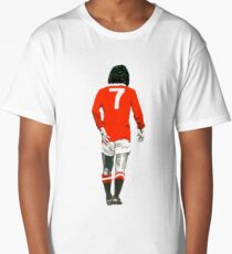 Gorgeous George Best Tribute Manchester United No.7 Long T-Shirt