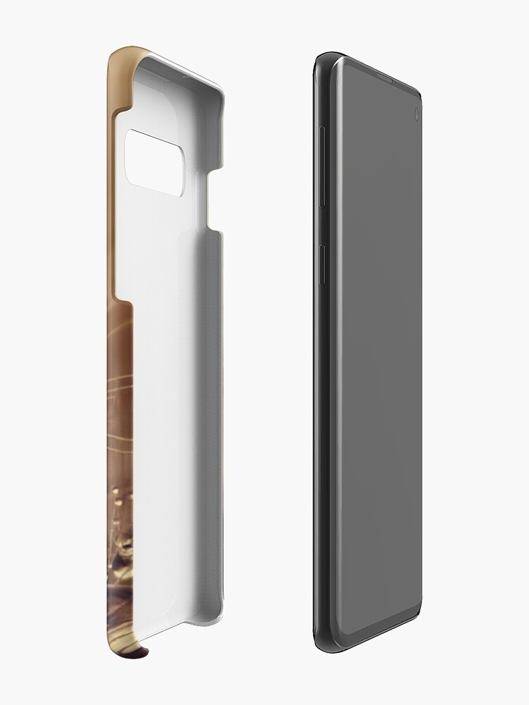 Alternate view of Toffee Drops Case & Skin for Samsung Galaxy