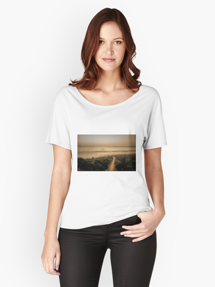 The Mist Women's Relaxed Fit T-Shirt Front