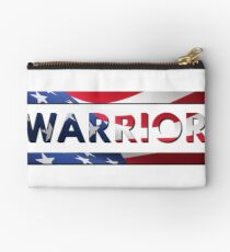Warrior - American Flag (USA) Studio Pouch
