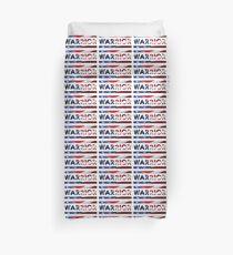 Warrior - American Flag (USA) Duvet Cover