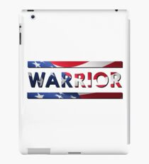 Warrior - American Flag (USA) iPad Case/Skin
