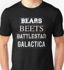 bears beets T-shirt  T-Shirt