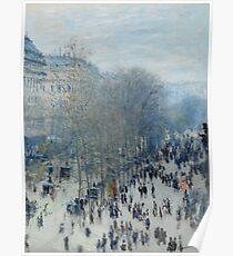 Claude Monet - Boulevard des Capucines, 1873 Poster
