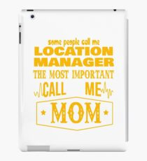 LOCATION MANAGER BEST COLLECTION 2017 iPad Case/Skin