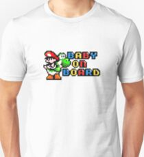Baby Mario on Board T-Shirt
