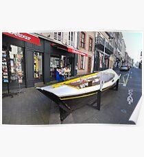 Granville, France 2012 - Reading Boat Poster
