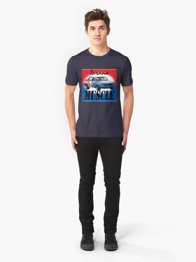 Alternate view of Torana Muscle car Slim Fit T-Shirt