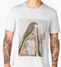 Rainbow tears Men's Premium T-Shirt