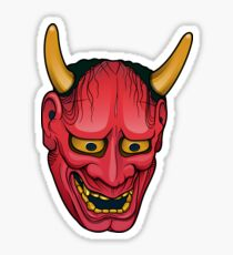 Hannya mask Sticker