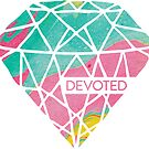 Devoted - Marble - Cotton Candy by marjoriejackson