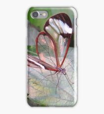 The Glasswinged butterfly iPhone Case/Skin